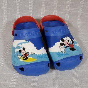 Mickey Mouse Crocs Kids J 3 Surfing